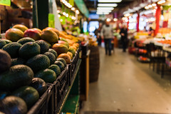 Toronto (Katherine Ridgley) Tags: toronto stlawrencemarket stlawrence market farmersmarket food shote shop shopping foodie fruit produce avocado avocados mango mangoes grocery grocer