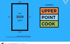 Lot 3029, Ambassador Crescent, Point Cook VIC