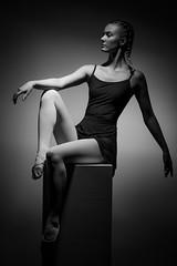 The ballerina (Toftus Photography) Tags: tromsø troms norway no norge nordnorge northernnorway beauty beautiful hermosa beau joli belle magnífico sexy vakker smuk 美丽 綺麗な красивый woman girl jente pige female femme femelle femenino kvinde kvinne женщина самка дама 女人 妇女 女性 frau mädchen 女孩 女の子 девушка photostudio fotostudio studio model modell portrett portrait training trening træning workout fitnes muscles health dans dance танец ダンス 舞蹈 danza tanz danse ballet ballerina art kunst artwork kunstverk bw blackandwhite sorthvit sh monochrome