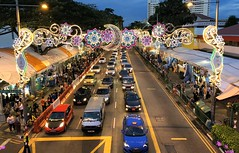 Ramadan Bazaar (Br@jeshKr) Tags: geylangserai ramadan eid celebration festival brajeshart singapore evening bluehour travel street