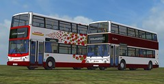 OMSI 2 Lothian Repaints (Brandy0604) Tags: transbus alx alx400 400 dennis adl trident 2 omsi lothian harlequin revised 2016 repaints for