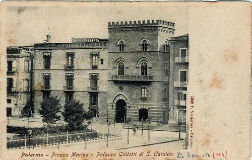 Palermo – Piazza Marina - Palazzo Galletti di S. Cataldo