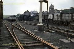 054 Muirkirk shed (John Boyes)  160 (Ernies Railway Archive) Tags: gswr lms scotrail muirkirkstation