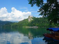 Lake Bled (Kaeko) Tags: bled slovenia lakebled lake island water europe travel vacation castle boats