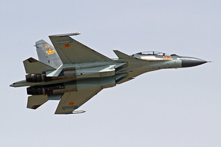 Kazakhstan Air Force Sukhoi Su-30SM 02 Red TSE 25-05-18