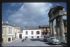 Πύλη της Αρχηγέτιδος Αθηνάς. (Giannis Giannakitsas) Tags: greece grece griechenland athens athenes athen αθηνα πυλη αθηνασ αρχηγετιδοσ ρωμαικη αγορα 1958 keld helmer petersen