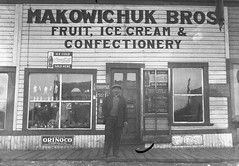 Makowhichuk Brothers Confectionary, Smoky Lake, Alberta (Provincial Archives of Alberta) Tags: alberta canada ukrainians ukrainiancanadians ukraine