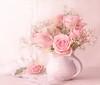 A single rose can be my garden... (BirgittaSjostedt) Tags: rose flower plant garden beauty pot still stilllife window wedding card birgittasjostedt