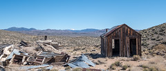 Camp with Arc Dome (joeqc) Tags: nevada nv nye county abandoned forgotten mine mining shack cabin fuji xe3 xf1024f4r magazine