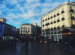 (maycambiasso98) Tags: day sun people house color españa plaza walk street vacation travel madrid spain