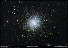 The Great Globular Cluster in Hercules M13 (Terry Hancock www.downunderobservatory.com) Tags: qhy qhy168m sky astronomy astrophotography astroimaging cmos cosmos