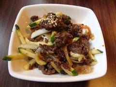 Bulgogi (knightbefore_99) Tags: korea korean asian morak fusion cuisine tasty food lunch work best kingsway vancouver burnaby beef hot awesome