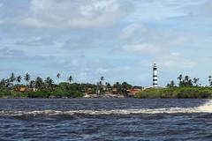 Farol Preguiças (dotcomdotbr) Tags: sony alpha a77 viagem lençóis maranhenses ma sal55300 farol rio preguiças paisagem verde água