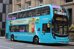 Arriva 4697 (anthonymurphy5) Tags: 4697 yx17nfm enviro400mmc liverpoolcitycentre 00618 busphotography buspictures busgarage busspotting bus arriva