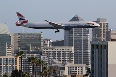 British Airways (So Cal Metro) Tags: britishairways boeing 777 773 777300 british gstbh airline airliner airplane aircraft plane jet aviation airport san sandiego lindberghfield 77w