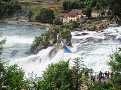 Una maravilla (Nati C.) Tags: suiza rin cataratas agua naturaleza paisaje nik hdr