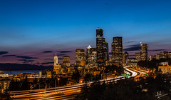 Home is where heart is. (ashpmk) Tags: seattle seattlelife sea seattlephotos seattlite downtownseattle sky skyline skycolors skyscraper sunset cityscape city citylife cityview pacificnorthwest pacific northwest