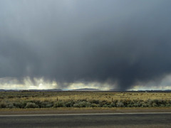 Low hanging (jimsawthat) Tags: highdesert clouds rain rural newmexico