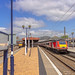 Classic view of a railway platform and train