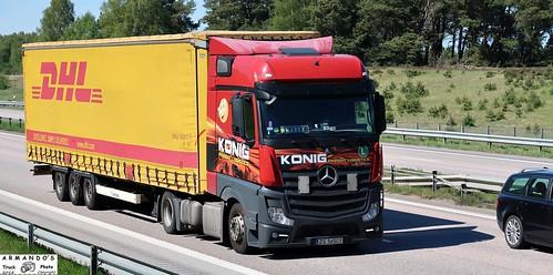 Mercedes (PL565) Konig Freight Logistics - DHL - a photo on