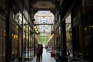Inside the Passage du Grand-Cerf, Paris