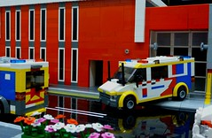 Queenscliffe Bricks 2018 (3) (Lonnie.96) Tags: complete new roof minifigure minifig walkway service state ses local boat mfb 09 guard coast winter snowmobile snow light traffic ladder tree top studs snot road command health replica authority country cfa right left back front door bay building car van truck fire police ambulance rescue emergency station brick australia victoria mugs geelong bellarine creation own moc model packup setup 10 9 8 june 2018 seventh exhibitor exhibition display lego bricks lonsdale point queenscliffe queenscliff
