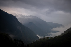 Fog over the peaks surrounding Lachung, Sikkim (CamelKW) Tags: sikkimindia2018 beechu sikkim india in