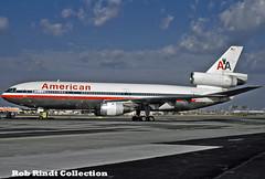 American Airlines DC-10-10 N912WA (planepixbyrob) Tags: american americanairlines mcdonnelldouglas dc10 n912wa dfw dallas kodachrome