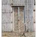 door of abandoned factory