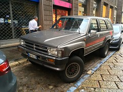1980's Toyota 4 Runner SR5 EFi 4WD 5Speed Manual Gearbox (mangopulp2008) Tags: 1980s toyota 4 runner sr5 efi 4wd 5speed manual gearbox milan italy