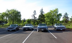 Fin cars (60Fire) Tags: classiccar chrome canada cadillac car desoto chrysler300 mopar ontario tailfin mississauga tvfilmset
