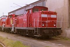 DB 346916-0 (bobbyblack51) Tags: db class 346 dr 106 lew d diesel shunter 3469160 1069160 bw seddin 2001