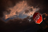 Sunset above stop sign, Longfellow Gardens, Minneapolis (schwerdf) Tags: cloudscapes longfellowgardens minneapolis minnehaha minnesota nokomis sunsets