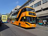 Nottingham City 444 Milton Street (Guy Arab UF) Tags: nottingham city transport 444 yn18sxc scania n280ud alexander dennis enviro 400 bio gas bus milton street buses