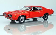 1969 Pontiac GTO Judge 2dr Hardtop (JCarnutz) Tags: 124scale diecast danburymint 1969 pontiac gto thejudge