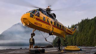 N617CK - Croman Corp - Sikorsky S-61N Shortsky