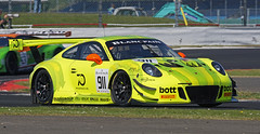 #911 Silverstone 20-05-18 (IanL2) Tags: herberthmotorsport porsche 911 gt3 blancpain endurance silverstone motorsport car