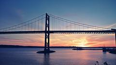 Bridge Sunset, pt 2 (paul.wesson) Tags: atlanticcanada bridge canada dartmouth eastcoast explorecanada explorens fuji fujixt1 igcanada igersnovascotia imagesofnovascotia novascotia ohcanada shannonpark shannonparklookoff sunset visitnovascotia yhz ns