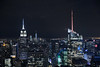 in the dark of night (Andy Kennelly) Tags: new york night after dark empire state building city lights nyc ny skyline cityscape
