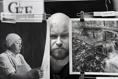 "Jesper: ""Snurra mig!"" (arkland_swe) Tags: linan2018 linan visby gotland utställning exhibition photo foto fotografi sanktakarin ruin"