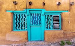 Back door, Santa Fe NM 2018 (Gord McKenna) Tags: touringaroundthecentralpartofsantafe newmexico gordmckenna gord mckenna santa fe colour door
