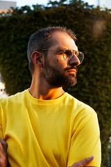 Yellow (Connor Wilkinson) (Connor Wilkinson) Tags: wiltonmanors riverwalk gay men guys fortlauderdale glasses yellow