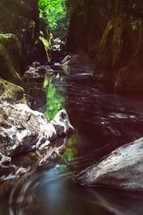 Fairy Glen ( Explored ) (Esox2402) Tags: rocks river flow trees canon6d 70200mmf4l