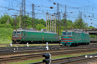 UZ VL11M-066 and VL82M-056, Lviv, 2018/05/21.