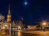 Dresden - Theaterplatz (Norbert Helbig) Tags: nikon d7200 reise travel world eurpoa europe germany deutschland saxony sachsen dresden theaterplatz blaue stunde lzb langzeitbelichtung