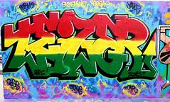graffiti in Amsterdam (wojofoto) Tags: amsterdam nederland netherland holland graffiti streetart wojofoto wolfgangjosten teizer javaeiland