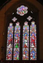 Stamford, Lincolnshire - St Mary's Church (Glass Angel) Tags: lincolnshire stamford stmaryschurch stainedglass church