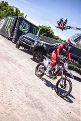 A55T8950 (Nick Kozub) Tags: montreal f1 monster energy compound fmx show demo aerial acrobatic inverted insane trick crazy vertical airborne kissthesky whereisjohannes stunt defy gravity grand prix canada freestyle motocross canon eos 1d x ef usm l 35350 f3556