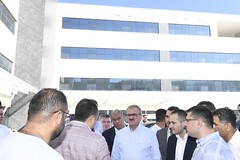 #Finike ilçemizde inşaatı devam eden yeni belediye hizmet binası ve inşaatı bitmek üzere olan devlet hastanemizde incelemelerde bulunduk. (mkaraloglu) Tags: finike