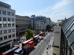 View from the roof of the Coutts Skyline garden: Charing Cross Station etc. (John Steedman) Tags: charingcrossstation charingcross station london uk unitedkingdom england イングランド 英格兰 greatbritain grandebretagne grossbritannien 大不列顛島 グレートブリテン島 英國 イギリス ロンドン 伦敦